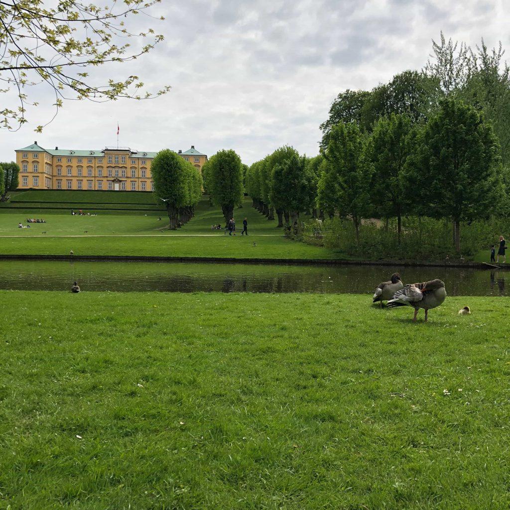 Frederiksberg Palace in Copenhagen