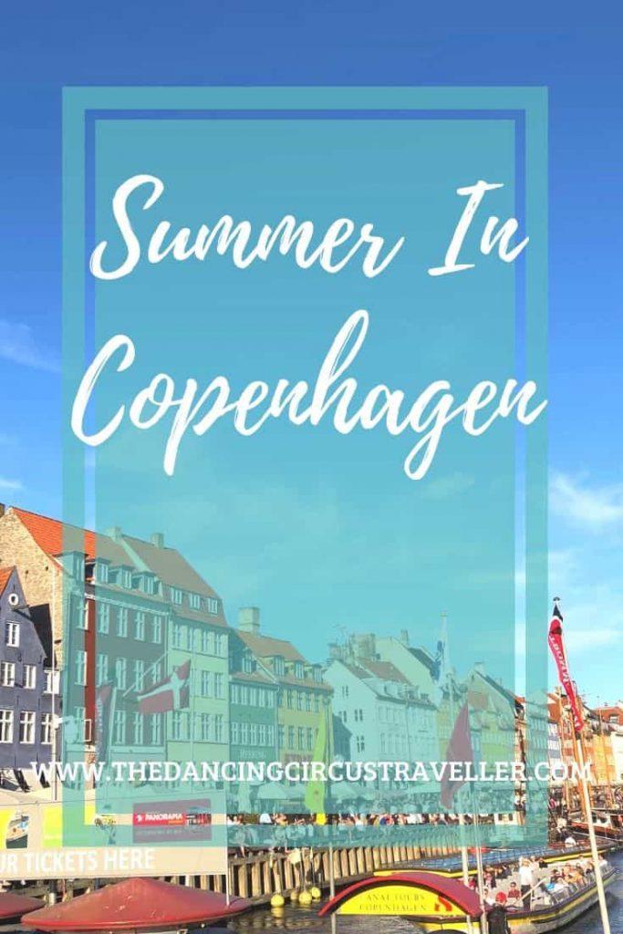 Summer in Copenhagen www.thedancingcircustraveller.com