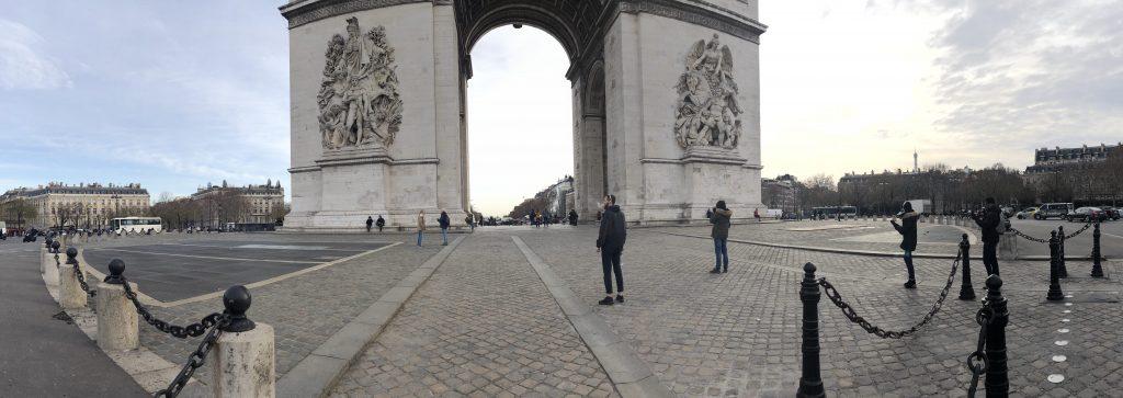 The Arc de Triomphe Paris in Two Days