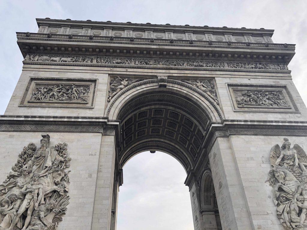 arc de triomphe Paris in Two Days