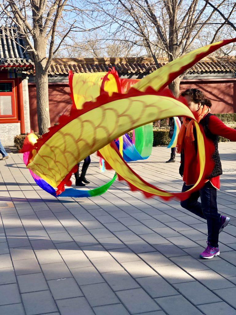 Ribbon dancing 3 days in Beijing www.thedancingcircustraveller.com