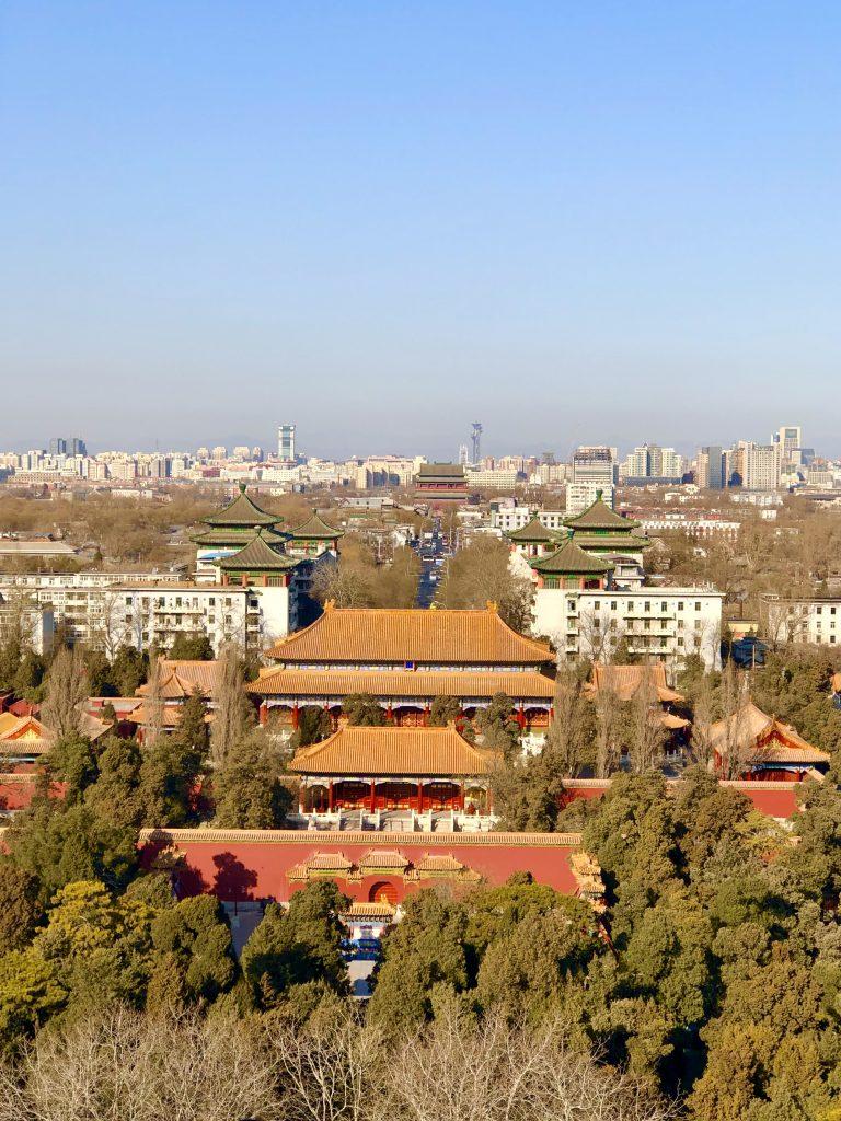 View of Forbidden City 3 days in Beijing www.thedancingcircustraveller.com
