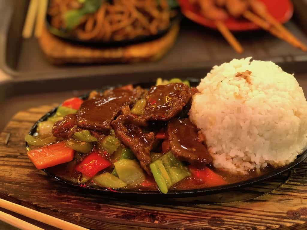 beef and rice china