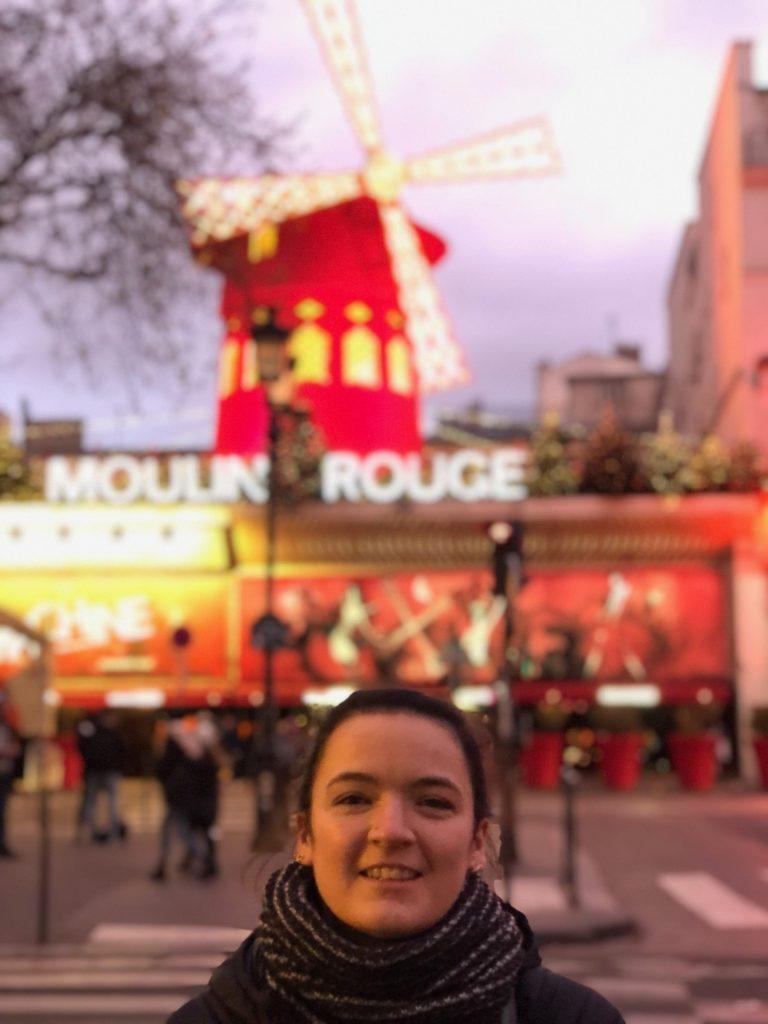 Moulin Rouge at dusk